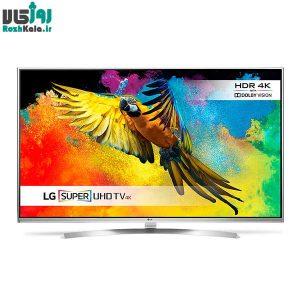 تلویزیون ال ای دی هوشمند سه بعدی ال جی مدل ۵۵UH850V سایز ۵۵ اینچ ۴K
