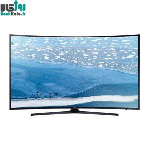 تلویزیون ال ای دی هوشمند خمیده سامسونگ مدل ۵۵KU7350 سایز ۵۵ اینچ ۴K