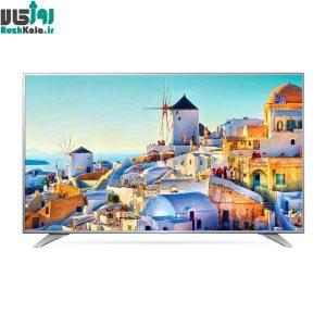 تلویزیون ال ای دی هوشمند تخت ال جی مدل ۴۹UH654V سایز ۴۹ اینچ ۴K