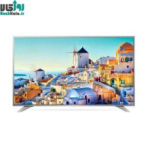 تلویزیون ال ای دی هوشمند تخت ال جی مدل ۴۹UH651V سایز ۴۹ اینچ ۴K