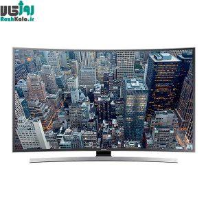 تلویزیون ال ای دی هوشمند خمیده سامسونگ مدل ۵۵JU6600 سایز ۵۵ اینچ ۴K