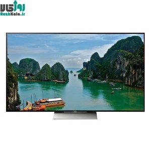 تلویزیون ال ای دی هوشمند تخت سونی مدل ۵۵X8500D سایز ۵۵ اینچ ۴K
